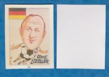 West Germany Uwe Seeler Hamburg 86